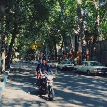 Beautiful street in Torgabeh