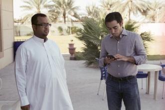 يمين: علي الزيدي، يسار: هشام الحميد